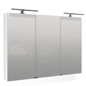 Spiegelschrank mit drei Spiegeltüren