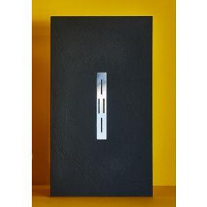 Duschwanne aus Mineralwerkstoff  mit Rinne 180x70cm -180x100cm