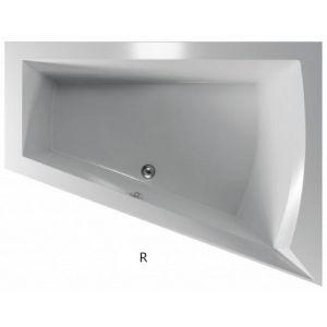 Asymmetrische Badewanne Galia 175x135