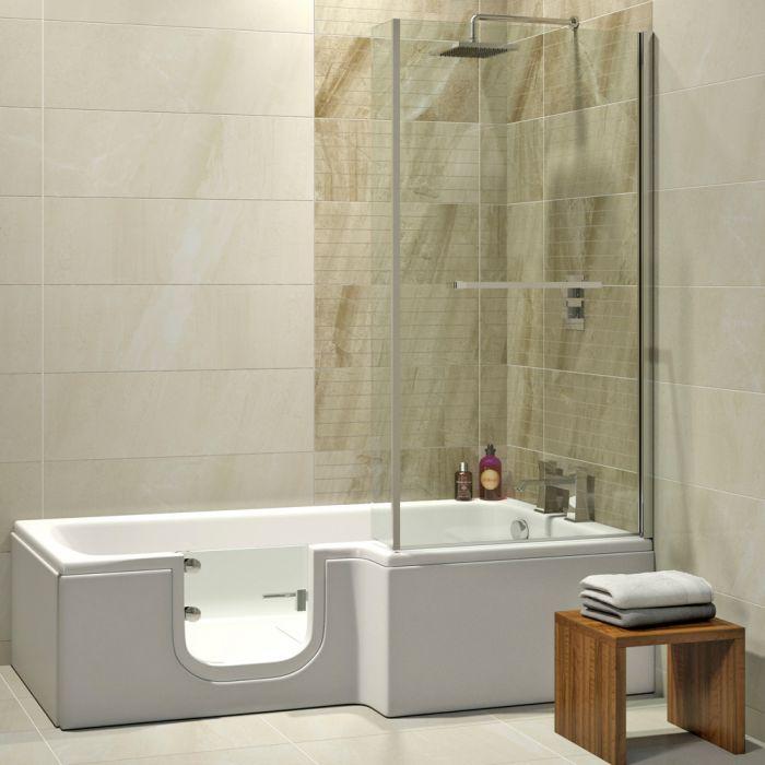 Badewanne Mit Duschaufsatz