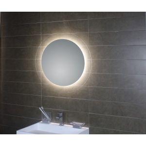 runder Spiegel mit verdeckter LED Beleuchtung